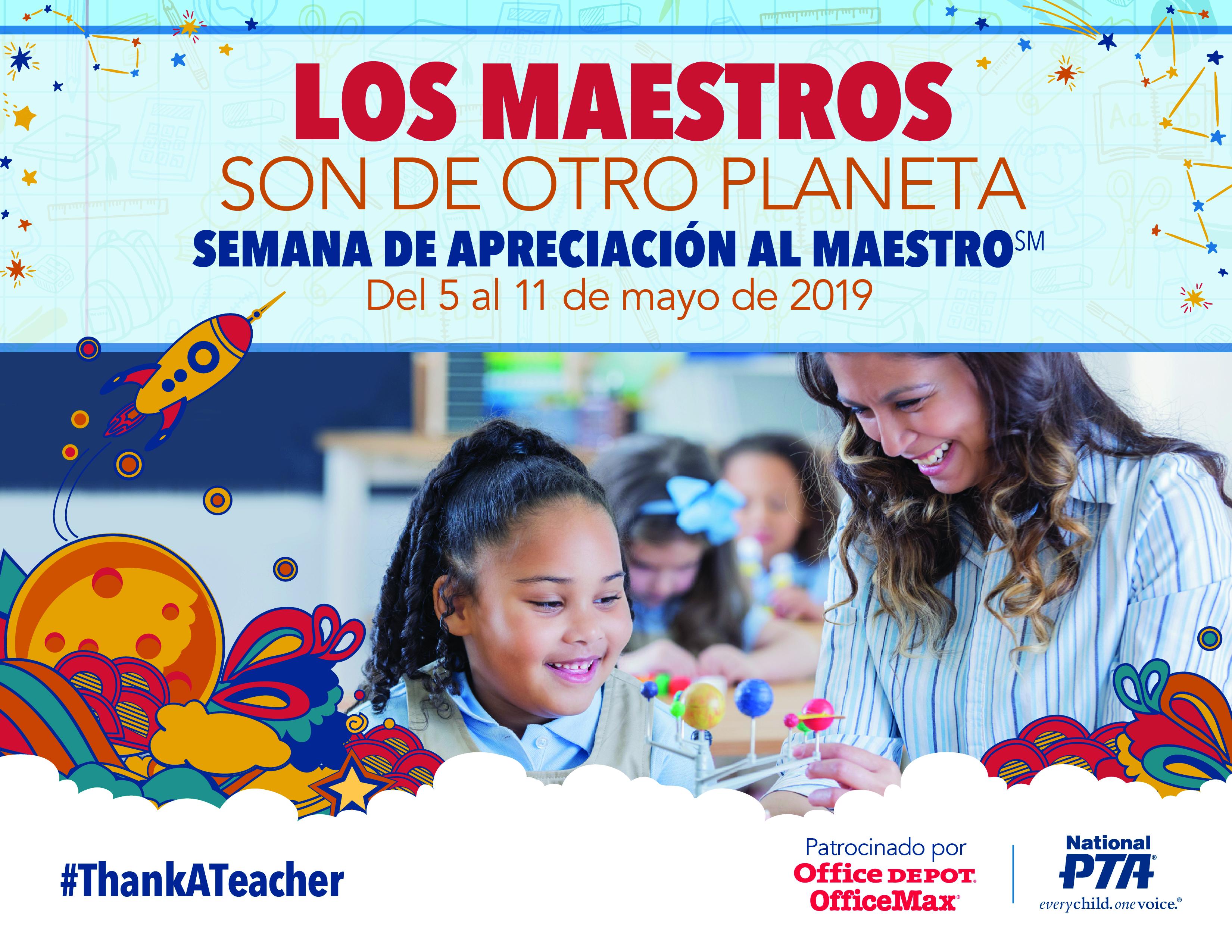 All About Anna Español teacher appreciation week - events   national pta