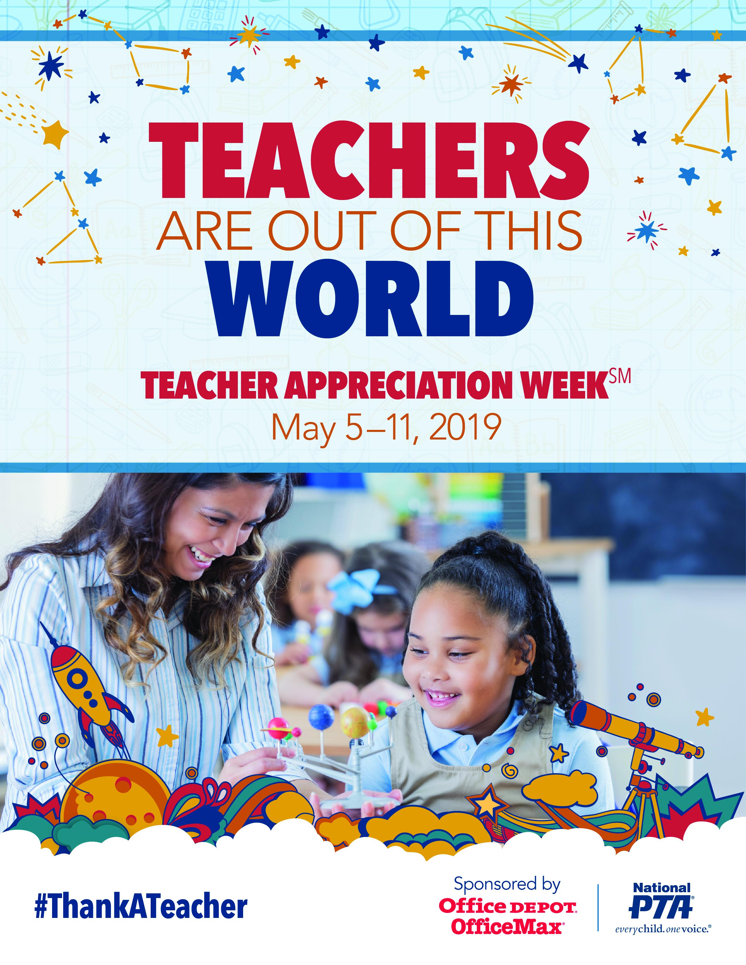 teacher appreciation week  national pta