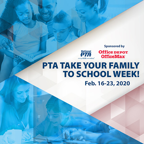 Take Your Family to School Week 2020