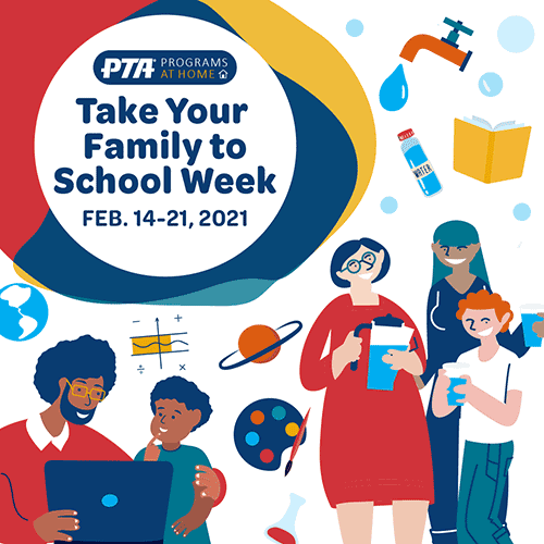 Thank Your Family to School Week Instagram Image