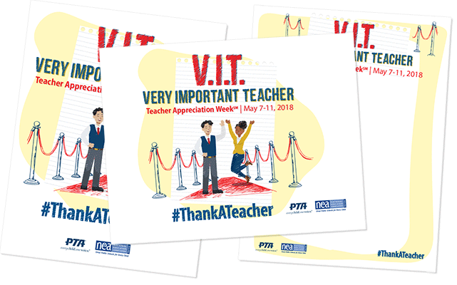 Teacher Appreciation Week Flyers