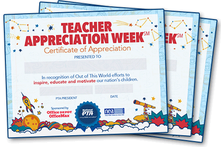 Teacher Appreciation Week - Events | National PTA