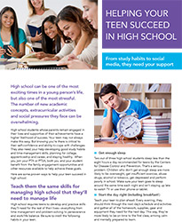 Helping Your Teen Succeed in High School