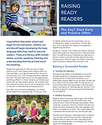 Raising Ready Readers