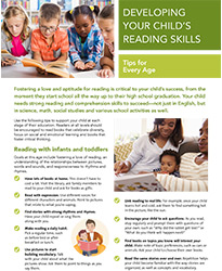 Developing Your Child's Reading Skills