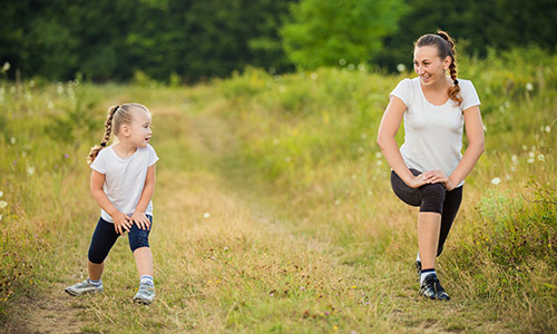 Make Exercise a Family Habit