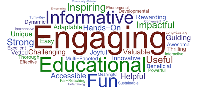Why National PTA Programs Word Cloud