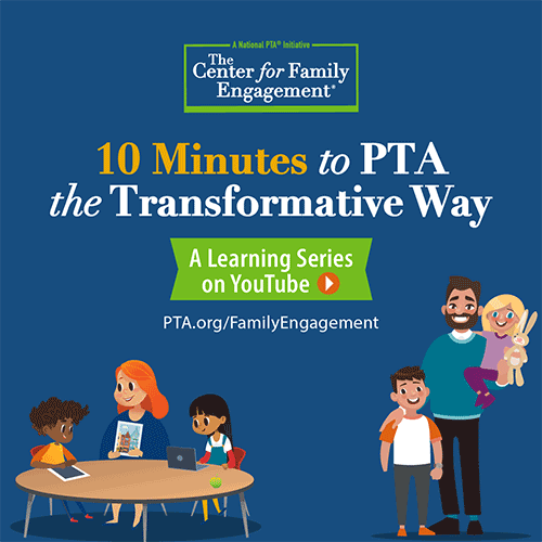 10 Minutes to PTA the Transformative Way