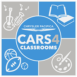Chrysler Pacifica Cars 4 Classrooms