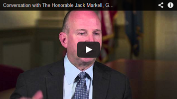 Convo with Jack Markell, Gov of Delaware