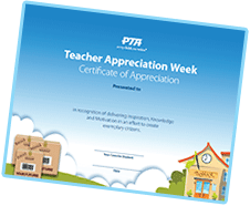 Certificates of Appreciation for Teachers